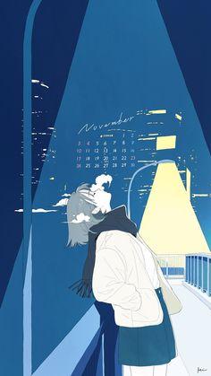 Twitter Art Anime, Anime Artwork, Anime Art Girl, Manga Art, Anime Scenery Wallpaper, Cute Anime Wallpaper, Kunst Inspo, Art Inspo, Cartoon Kunst