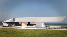 Renderings of green efficient house in Lagonisi.Modeling: T.ChairisRendering: A.Kapsalis