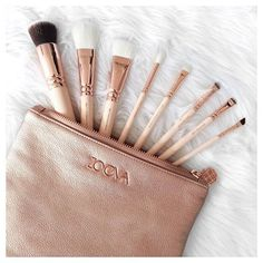 Is it normal when you get Zoeva brushes to avoid using them because they're soooo pretty?...  I'm in love. First Impressions vid coming soon xx by flipandstyle