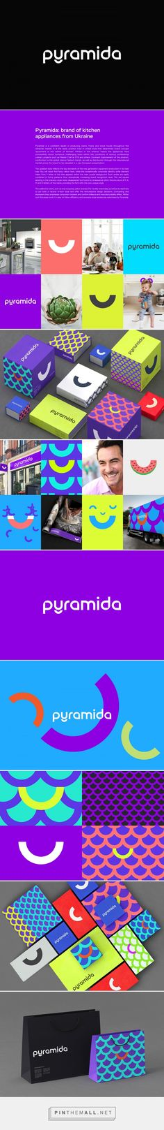 Pyramida - Brand Identity on Behance... - a grouped images picture - Pin Them All