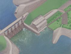 Construction is underway on a $280 million hydroelectric project near Pella that will be the second-largest hydroelectric plant in the state once completed.