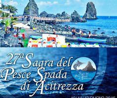 Sagra del Pesce Spada ad Aci Trezza dal 10 al 12 giugno... Continua a leggere http://www.notiziecatania.it/notizie/catania/aci-trezza-sagra-del-pesce-spada-dal-10-al-12-giugno/