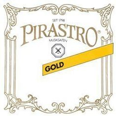 Pirastro Gold Label 4/4 Violin E String - Medium - Steel - Ball End  E string  4/4 violin  Medium gauge  Plain Steel  Ball End