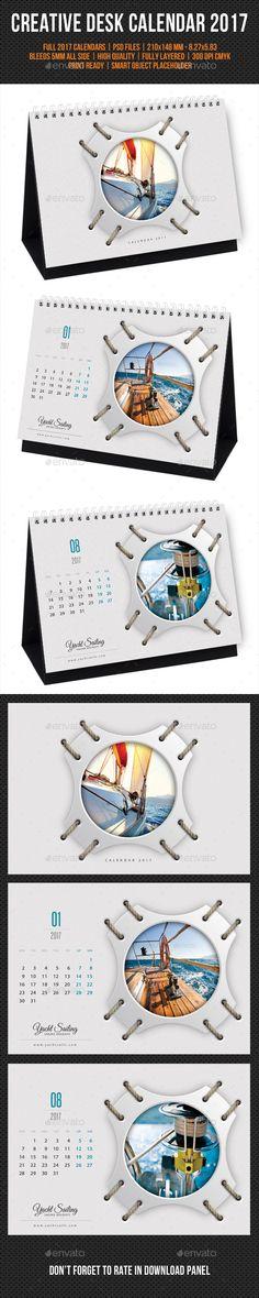 Creative Desk Calendar Design template 2017 V20 - Calendars Template PSD. Download here: https://graphicriver.net/item/creative-desk-calendar-2017-v20/17033672?s_rank=18&ref=yinkira