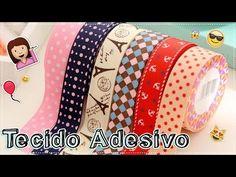 ♥Como Fazer Tecido Adesivo! ♥ - YouTube