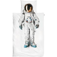 Buy Snurk Astronaut Single Duvet Cover and Pillowcase Set Online at johnlewis.com