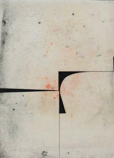 Katrin Bremermann | Sans titre, 2014, laque sur papier ciré, 40, 5 x 29,7 cm