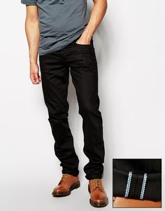 Unbranded+Jeans+UB155+Skinny+Fit+Selvedge+Twill