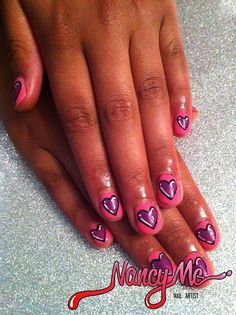 valentine nail art tumblr