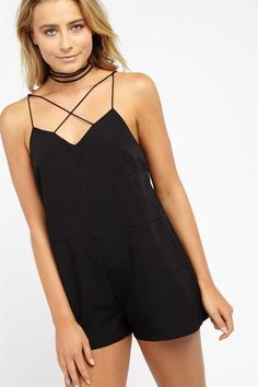 CRISS CROSS PLAYSUIT