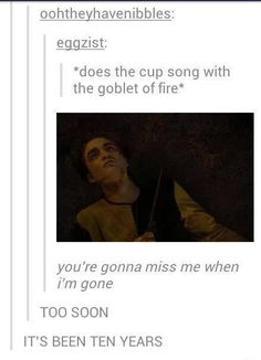 pitch perfect harry potter cross over Harry Potter Fandom, Harry Potter Memes, Harry Potter Tumblr, My Tumblr, Tumblr Funny, Hogwarts, Cup Song, Disney Babys, No Muggles
