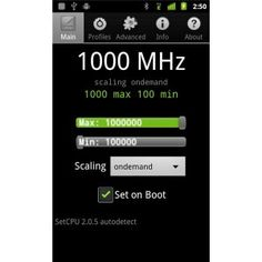 root-android-set-cpu