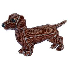 Beadworx Dog, Dachshund Ruby (Red) by Grassroots Creations