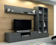 modulos – Anime pictures to hairstyles Living Room Tv Unit Designs, Living Room Wall Units, Tv Unit Decor, Tv Wall Decor, Tv Cabinet Design, Tv Wall Design, Lcd Panel Design, Tv Wanddekor, Modern Tv Wall Units