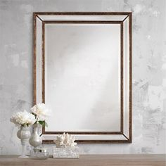 1000 Images About Bathroom Mirrors On Pinterest Wall Mirrors Benches And Beach Cottages
