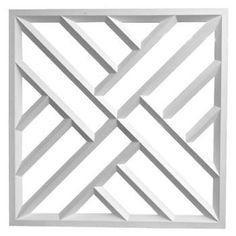 Use this large lattice panel in between your balusters or use simply for decoration purposes. Modern Pergola, Outdoor Pergola, Pergola Carport, Pergola Kits, Door Design, Wall Design, Window Grill Design Modern, Balcony Railing Design, Iron Gate Design