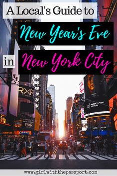 Avoid the over hyped Times Square ball drop and explore this #locals #guide to #NewYearsEve in #NewYorkCity. Check out ten unique things you that local's do and that most tourists don't know about.  #wanderlust #celebrations #parties #newyork #travel #unitedstates