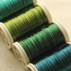 12 spools Copper wire  28 Gauge - pick your colors
