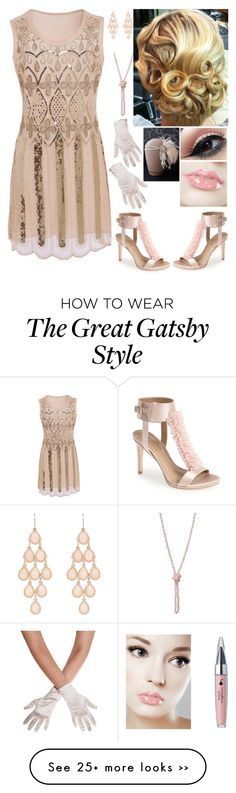 """Katerina Sophiana Johnson"" by mjzahner on Polyvore featuring BCBGMAXAZRIA and Accessorize"