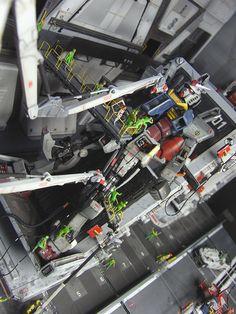 GUNDAM GUY: RG 1/144 RX-78-2 Gundam - Diorama Build