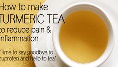 How To Make Turmeric Tea For Pain Relief