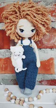 Beautiful Amigurumi Doll Crochet Pattern Ideas and Images Part amigurumi free patterns; amigurumi for beginners; amigurumi bear to Try Crochet Pattern Free, Crochet Patterns Amigurumi, Amigurumi Doll, Crochet Dolls, Boy Crochet, Amigurumi Tutorial, Easy Knitting Projects, Crochet Projects, Crochet Ideas