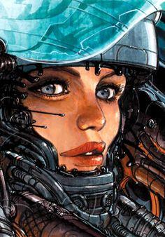 Juan Gimenez: beauty and the machine ¡Pedazo dibujante!