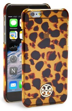 Free shipping and returns on Tory Burch 'Tortoise' iPhone 6 Case at  Nordstrom.