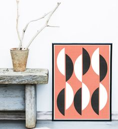 Abstract Art Print Printable Art Geometric Art by exileprints