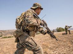 MARSOC and others SOF units - ground training. 1 MSOB