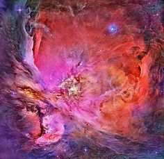 Inside The Orion Nebula (8 April 2014).
