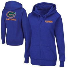 Florida Gators Ladies Throwback Full Zip Hoodie - Royal Blue Florida Gators Gear, University Of Florida, School Spirit, Full Zip Hoodie, Hoodies, Sweatshirts, Royal Blue, Hooded Jacket, Pullover