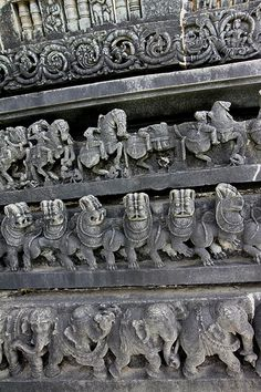 Chennakeshava temple, Belur India: one of the finest examples of Hoysala workmanship