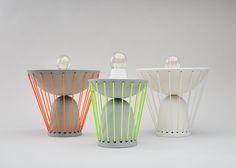 Marta-Bordes-Lampes en céramiques articulées