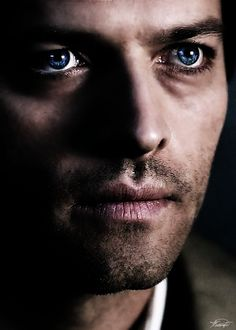 No they're not photoshopped. Saturated, maybe, but Misha's eyes are seriously THAT alluring.