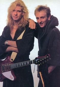 The Terror Twins (Not the Crue) - Def Leppard and Rockstar Photographs