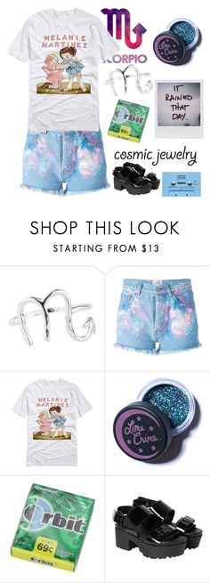 """""""Random set for contest"""" by leeloowheeler ❤ liked on Polyvore featuring Rock 'N Rose, WALL, Forte Couture, Lime Crime and Monki"""
