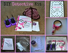 DIY Detective Kit from Crafty Confessions. This makes an awesome gift for a little girl or boy!