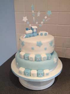 Christening Cake for a Boy Маленький Мальчик Торт, Помадные Торты, None, Торты Для Детского Дня Рождения, Пироги На День Рождения, Украшение Тортов, Идеи Для Вечеринки, Печенье, Bebe