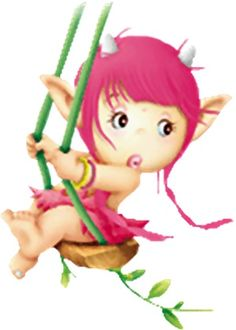 Toread ilustraciones de Duendes infantiles Enchanted Wood, Kobold, Funny Troll, Elves And Fairies, Fantasy Images, Illustrations, Cartoon Pics, Tole Painting, Doll Face
