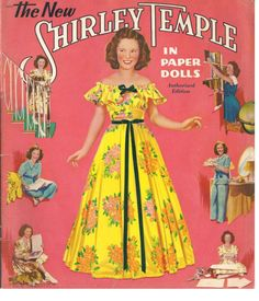 Shirley Temple Paper Dolls, 1940s