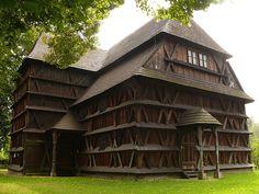 Hronsek_wooden_church