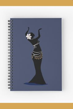 For all those belly dance class notes. Class Notes, Belly Dancers, Dance Class, Glossier Stickers, Spiral, Stationery, Notebook, Iphone Cases, Papercraft