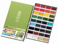 Amazon.com: Kuretake MC2036V Gansai Tambi 36 Color Set