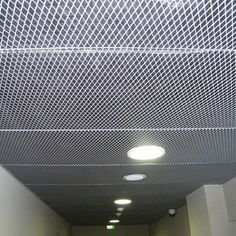 Decorative suspended ceiling / wire mesh / tile Marianitech