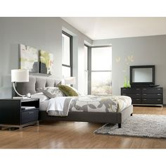 Masterton Bedroom Set- LOVE the Bed frame!!