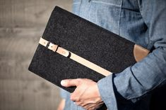 ee970962e988 #Cocones Typist Sleeve Case for #MacBook, made from premium wool felt and  Tuscan