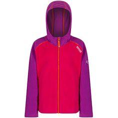 Regatta Great Outdoors Childrens/Boys Upflow Hooded Fleece Jacket
