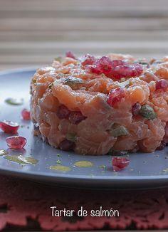 Tartar de salmón_2 by cocido de sopa, via Flickr