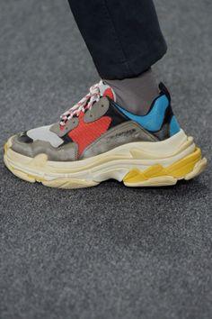 4ceef7930310 Paris Men s Fashion Week Dad Sneakers